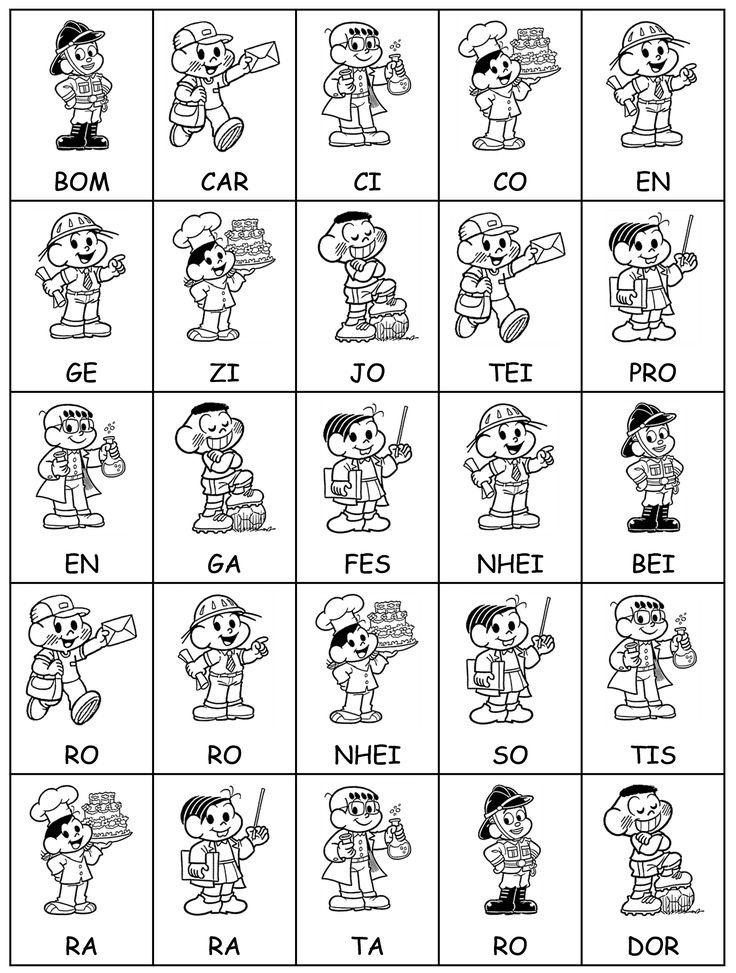 Este jogo de autoria de Ivana Kaiper  oportuniza ao aluno pensar na organização das sílabas na formação das palavras em questão. No início p...