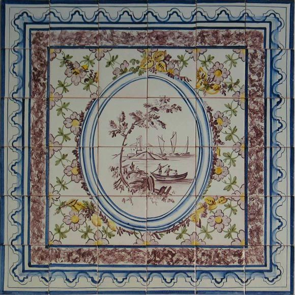 Tile Murals Spanish Tile Victorian Tile Decorative Tile