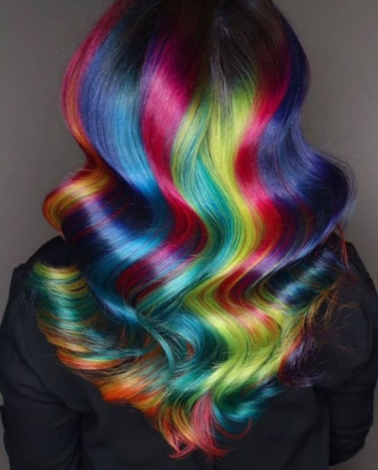 5148 colourful hair inspiration