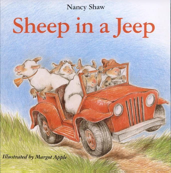 fun!Jeeps, Nancy Shaw, Reading, Margot Apples, Sheep, Childrenbook, Kids Book, Children Book, Pictures Book