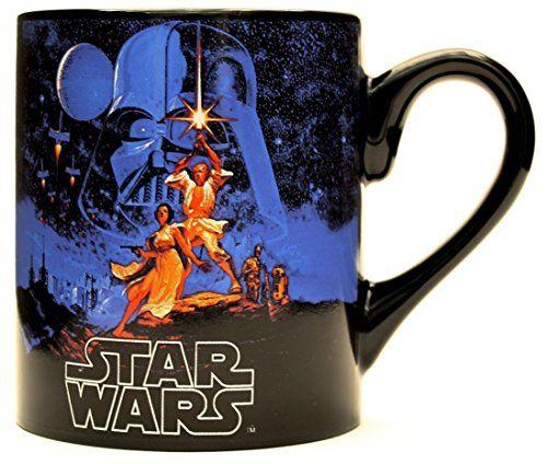 Silver Buffalo SW4332 Star Wars A New Hope Ceramic Mug, 14-Ounces //Price: $9.44 & FREE Shipping //     #starwarsmeme