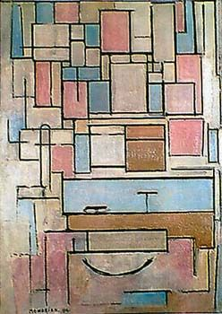 Composition with Color Areas by Piet Mondrian for Sale - New Zealand Art Prints
