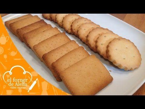 """Galletas de Mantequilla. El Forner de Alella elabora unas deliciosas galletas que a los niños les van a encantar ya que quedan muy sabrosas. Son muy fáciles de preparar y se pueden guardar durante varios días en un recipiente cerrado. Si os gusta este vídeo no olvidéis clicar """"me gusta"""" y compartirlo, nos ayudaréis y si queréis imprimir la receta, visitar nuestro blog www.elfornerdealella.com"""