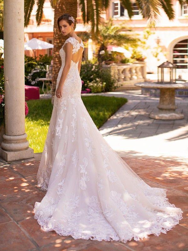 Lace Keyhole Back Moonlight Couture Wedding Dress H1427 Wedding Dress Couture Lace Mermaid Wedding Dress Wedding Dresses Lace