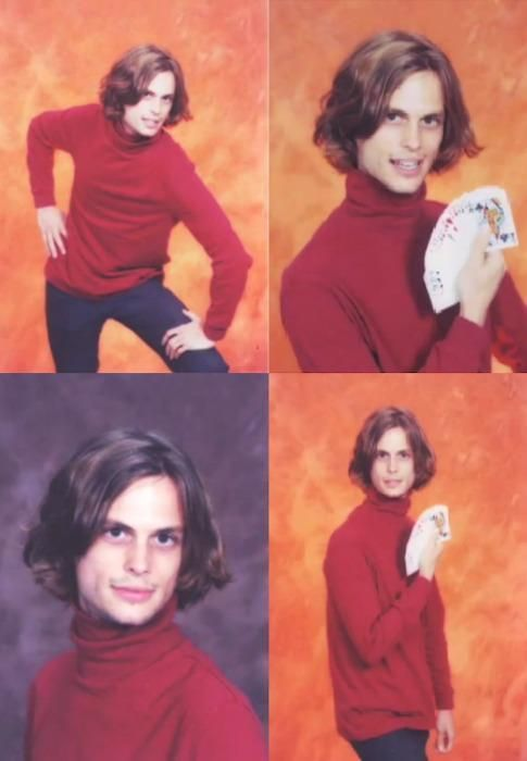 For anyone who is a fan of Criminal Minds.... Dr. Spencer Reed... high school senior pics. i just died.