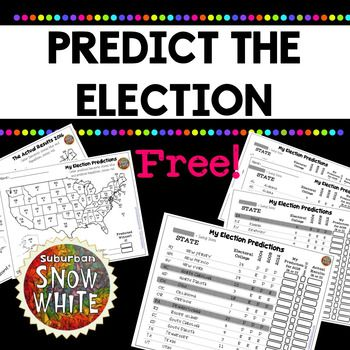 This year, I'm having my kids predict the outcome of the Electoral Process of the 2016 Presidential Election! I've designed it to work for all learners in my room, so that kids who need challenge can go as deep as they want, and those who need less information will be successful and engaged as well!   Kids can stay up a little later watching the results come in (or wait until the next day) and see how many of their predicted states were right! (In our class we're offering a prize for anyone…