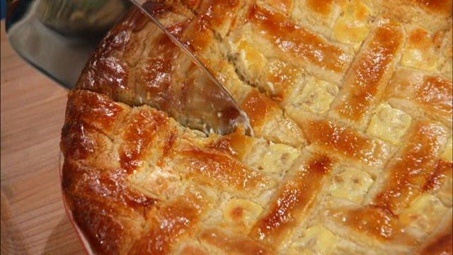 Kitchen Boss: Italian Wheat Pie : Video : TLC I'm going to try to make this for the holidays!