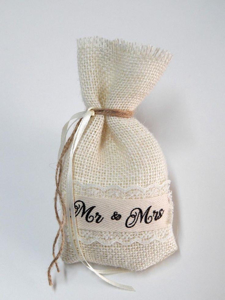 Πουγκί Γάμου - Mr & Mrs