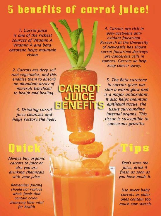 5 Health Benefits of Carrot