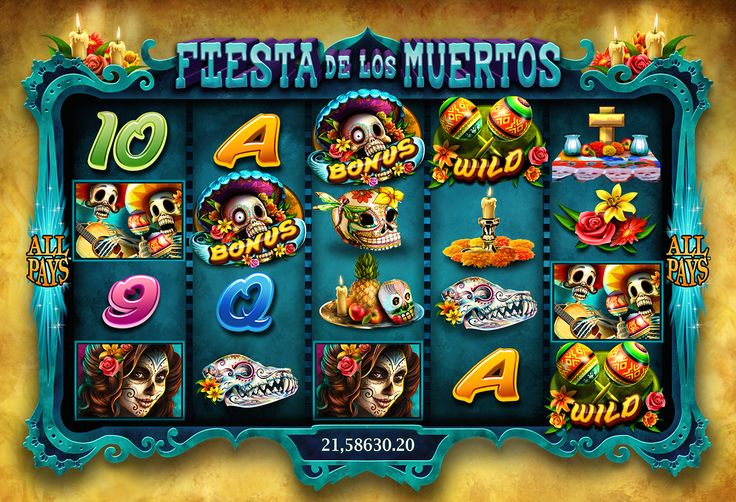 Slot games art on Behance