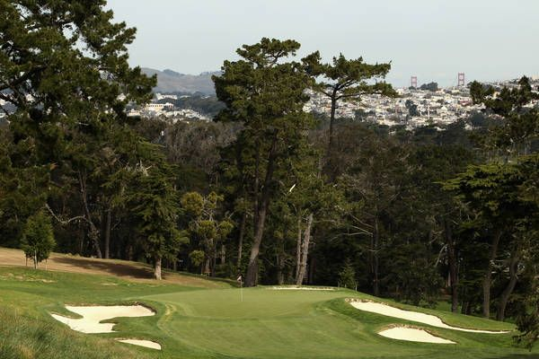 US Open: Sneak preview of Olympic Golf course from FOX Sports (Yes that is a part of the Golden Gate Bridge in the background)