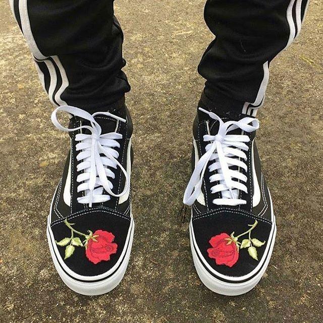 adidas Sweatpants X Custom Old Skools