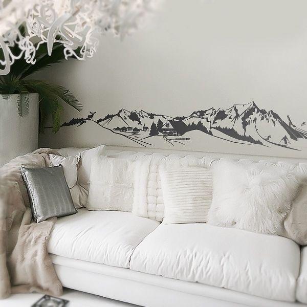 31 best Alpen Style images on Pinterest Alps, Baking center and - wandtattoo für wohnzimmer