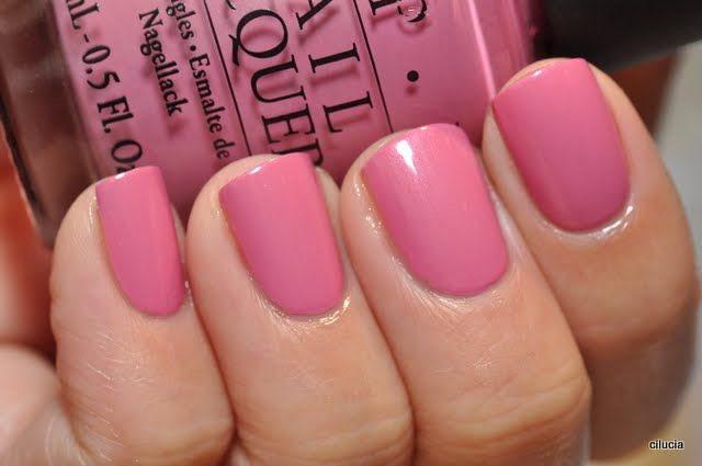 Definitely looks like  pretty colour to try out - on the wish list!    OPI Japanese Rose Garden