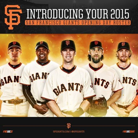 2015 SF Giants roster