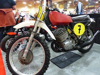 OldMotoDude: 1973 CZ 400MX for sale at th 2016 Mecum Las Vegas ...