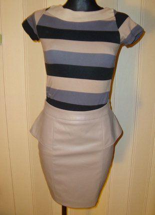 #skora #braz #spodniczka #baskinka #zip #skorzanaspodniczka #eleganckaspodniczka #spodniczkazbaskinka #mohito #rozmiar34 #sprzedam #wymienie #wyprzedazszafy #naspotkanie #narandke
