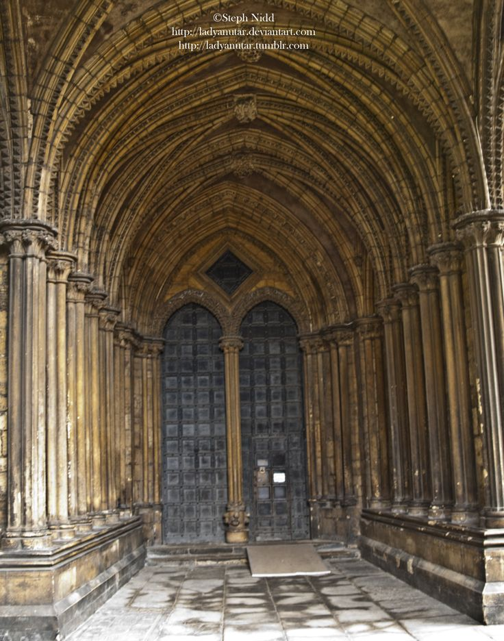 One of the many doors to Lincoln Cathedral