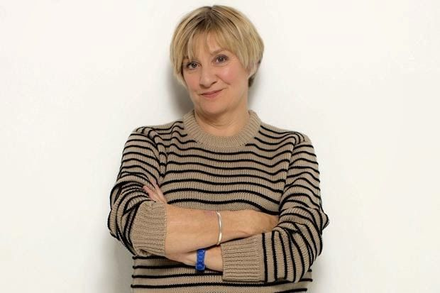 """That's Not My Age: Quote of the week: Victoria Wood 'Ageing is inevitable, yet it takes up a huge amount of people's energy trying to combat it. We accept this burden -  of being judged by our shape, wrinkles, double chin or grey hair - but I think it would be good if we just said """"Eff off"""".'"""