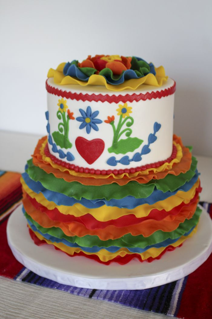 9 best fiesta cakes images on Pinterest