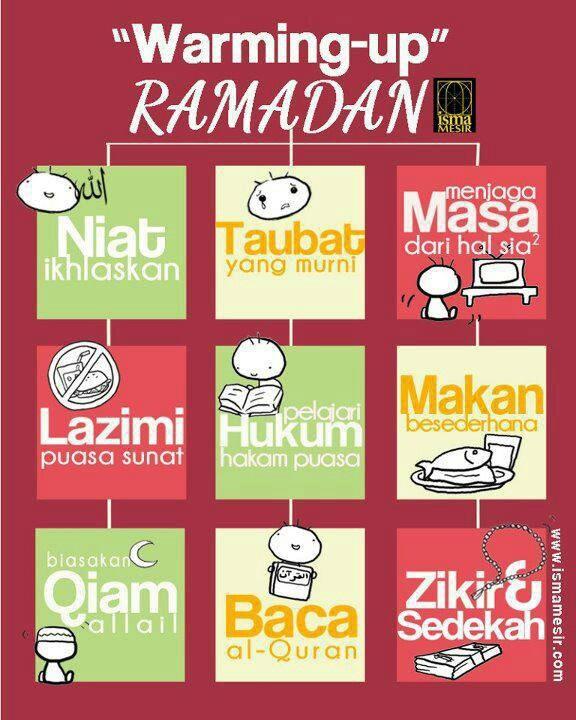 Warming up ramadhan