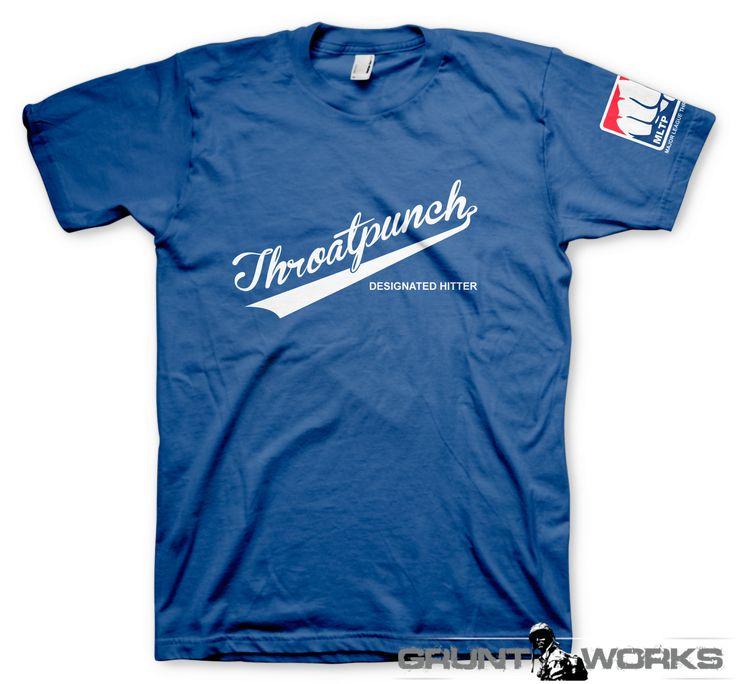 Throatpunch Designated Hitter T-Shirt - Gruntworks11b