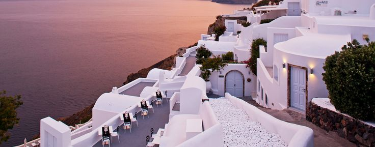 Canaves Oia Hotel: The property has spellbinding views of the caldera from every angle.