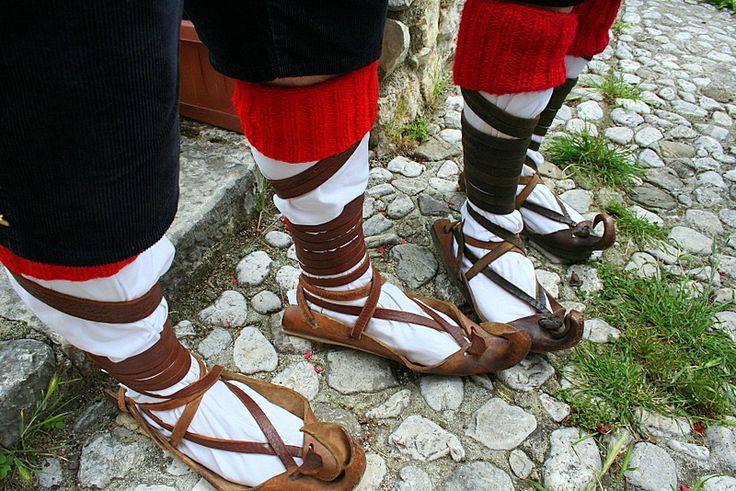 'Ciocie'...sandals that gave Ciociaro its name