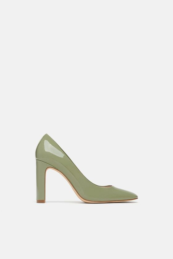 2467534fb87 Image 2 of PATENT FINISH HIGH HEEL SHOES from Zara