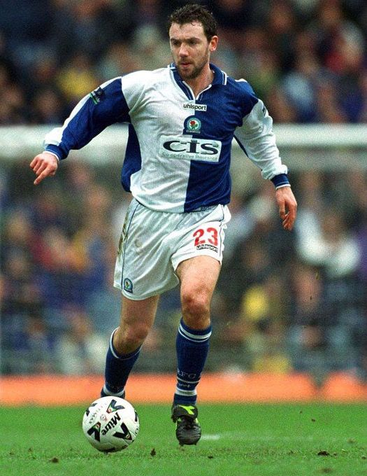 Christian Dailly of Blackburn Rovers in 2000.