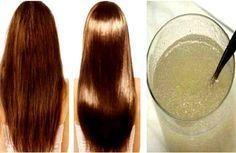 """Muchos tratamientos para el cabello afirman que le pueden devolver la salud, brillo y fuerza, pero en realidad contienen más químicos que a la larga lo dejan opaco. Mejor prueba con estas alternativas con ingredientes naturales. """"El pelo largo, suave y sedoso es un símbolo de la feminidad y el dese"""