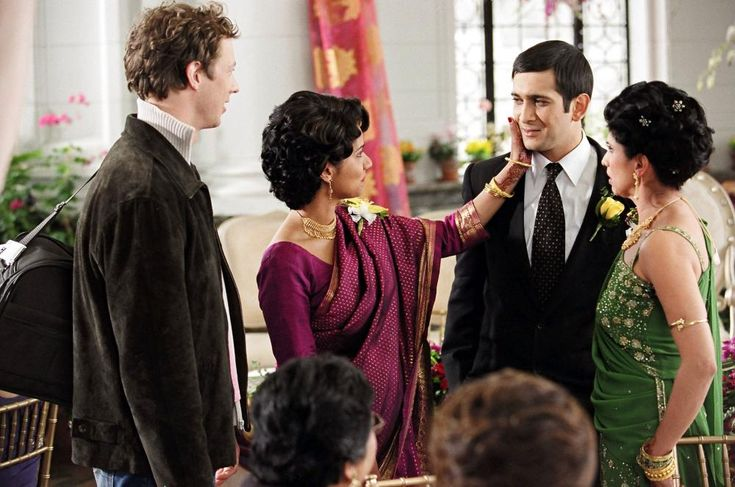 Kristen Holden-Ried, Suleka Mathew, Jimi Mistry, Veena Sood, 2004 | Essential Gay Themed Films To Watch, Touch of Pink http://gay-themed-films.com/watch-touch-of-pink/