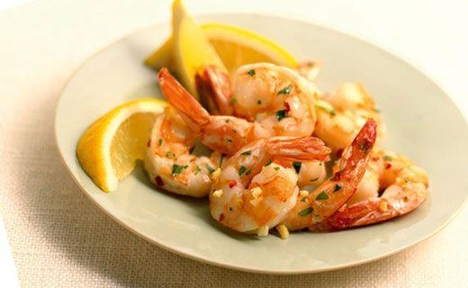 Epicure's Stir-fried Shrimp with Fish Rub