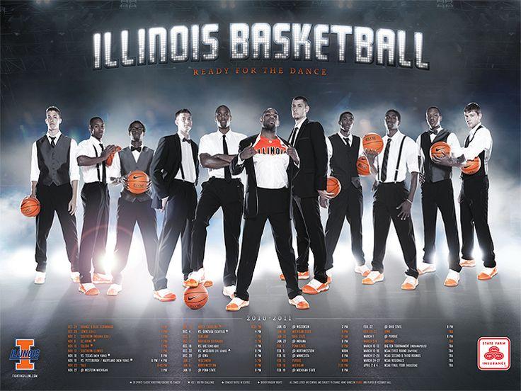 Illinois Basketball (2010-11) | J.Striebel Graphic Design