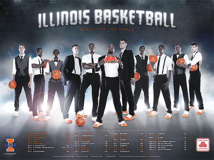 Illinois Basketball (2010-11) | J.Striebel Graphic Design