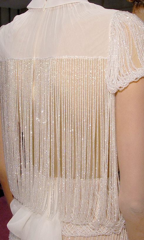 This shirt is so amazing - i'm in love ❤ - Beaded back details from viktor & rolf couture aw2001