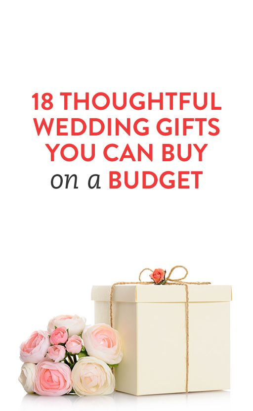 17 best ideas about thoughtful wedding gifts on pinterest for When should we register for wedding gifts