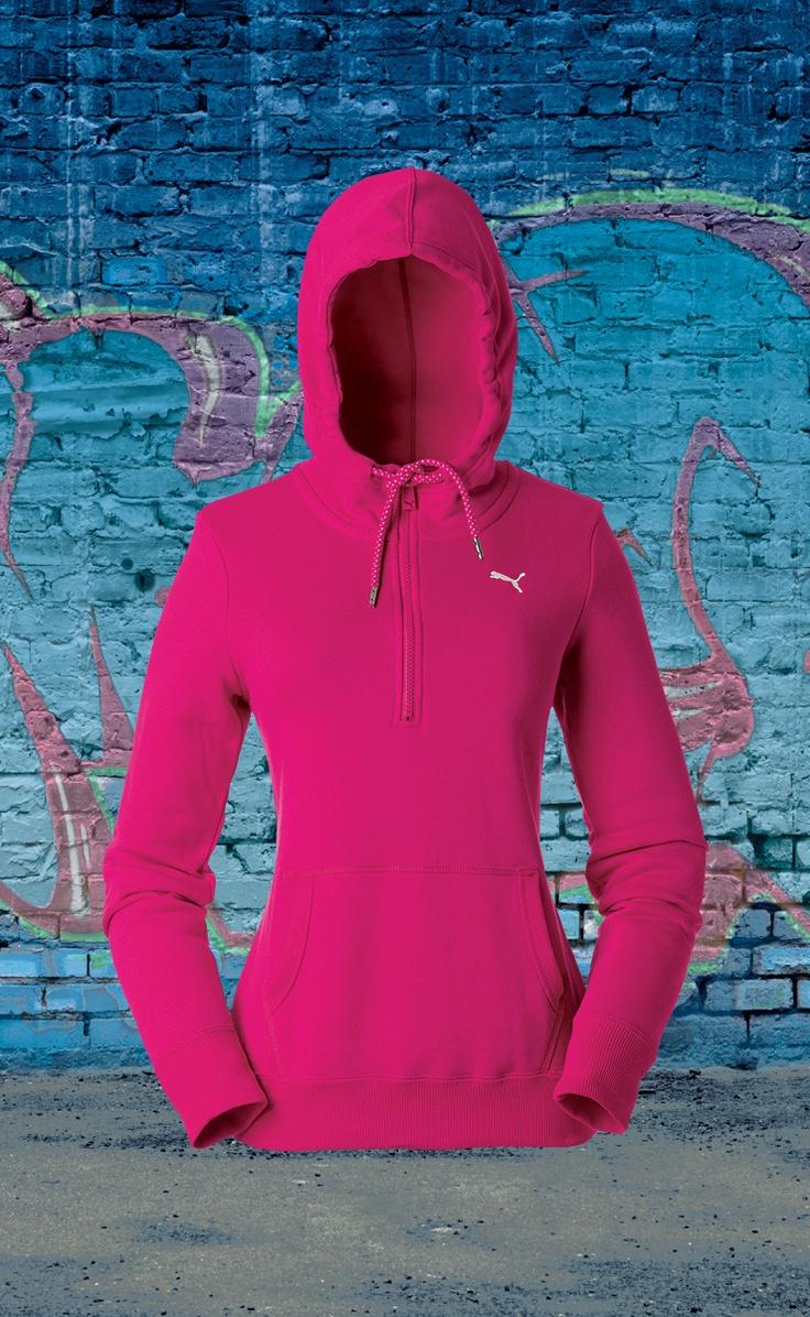 Puma ladies' 1/2 zip hoodie