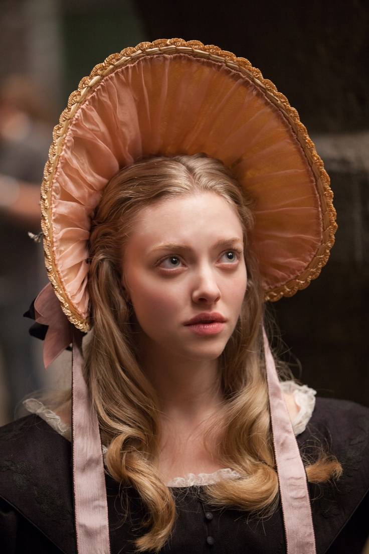 Cosette (Amanda Seyfried), Les Miserables movie.  I also liked her in Mama Mia .