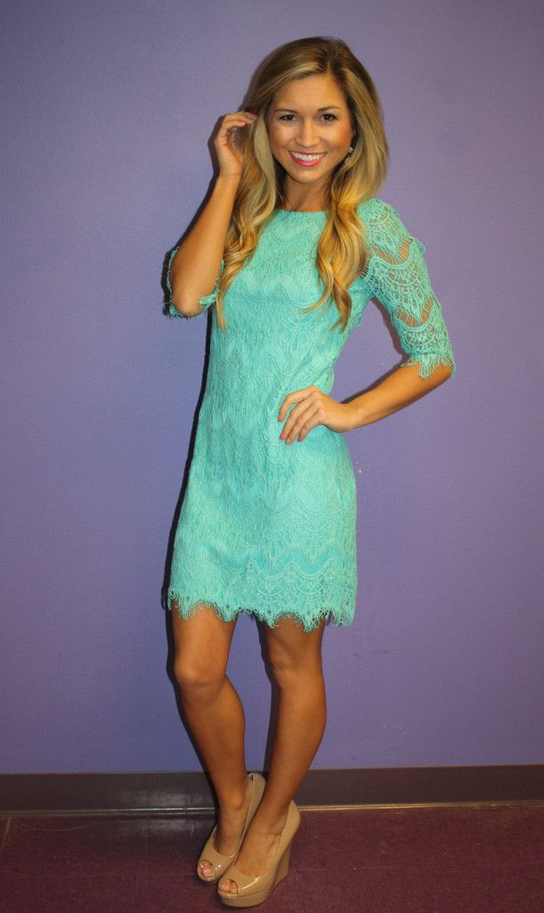 Blushing in Lace Mint | Impressions