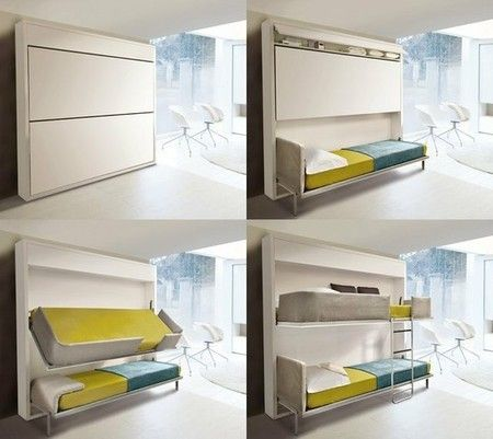 29 Best Pull Down Bed Images On Pinterest | 3/4 Beds, Wall Beds And Bed  Ideas