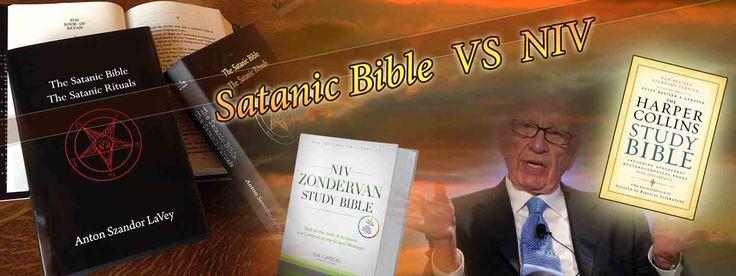 Satanic bible and NIV