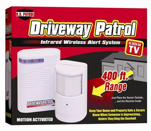 Best 25 driveway sensor ideas on pinterest landscape lighting driveway patrol garage motion sensor alarm infrared wireless alert secure system sciox Image collections