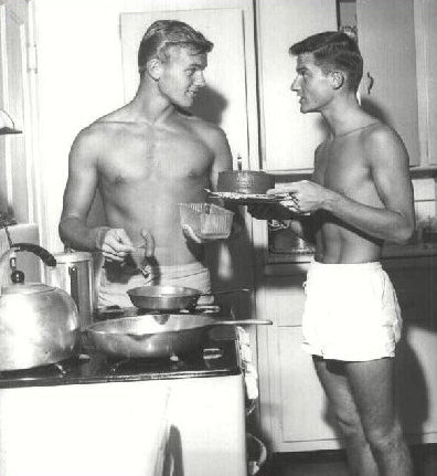 Tab Hunter & Roddy McDowall