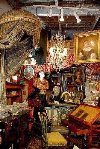 Les Puces de Saint-Ouen, Paris...Inspiration for your Paris vacation from Paris Deluxe Rentals