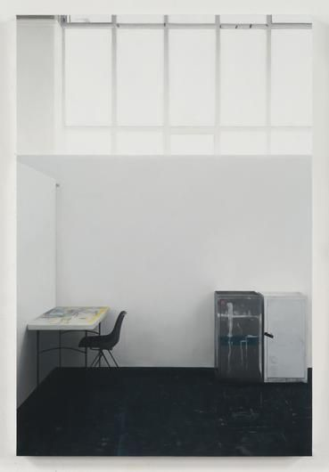 Paul Winstanley, Art School 34, 2014, Oil on panel, 35 1/2 by 23 5/8 in., 90 by 60 cm.