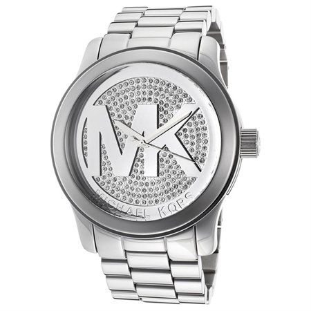 Michael Kors Runway MK Silver Dial Women's Watch - MK5544 [Apparel] Michael Kors - Rakuten.com