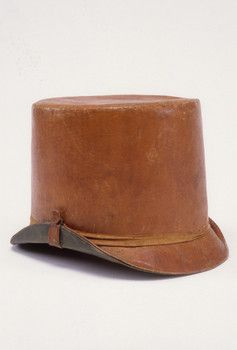 Boy's Leather Hat, 1820-1825