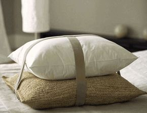 Lavender and buckwheat pillows- I've heard great things about these Japanese pillows!
