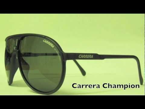 Carrera sunglasses are known for their sporty style and their Italian flair.    In this video we are displaying the following Carrera sunglasses:    Carrera Champion Sunglasses  Carrera Endurance Sunglasses  Carrera Topcar Sunglasses  Carrera Cool Sunglasses    https://shopcle.com/brands/view/Carrera